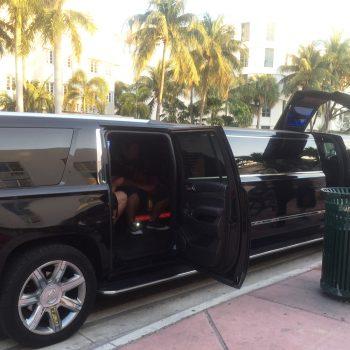 Limo in Miami
