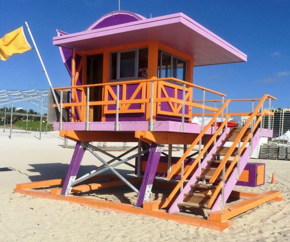 Rettungsturm Miami