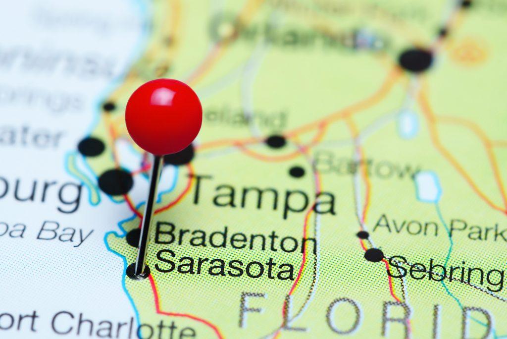 Sarasota Karte