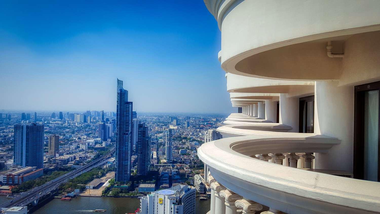 Aussicht Lebua Balkon