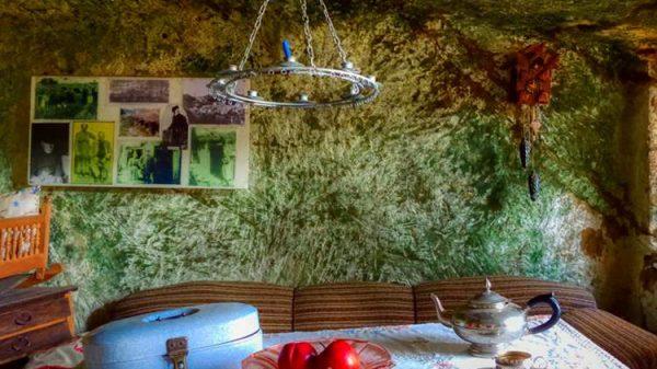 Höhlenwohnungen in Langenstein
