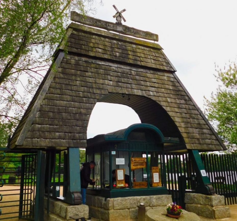 Eingang Windmühle