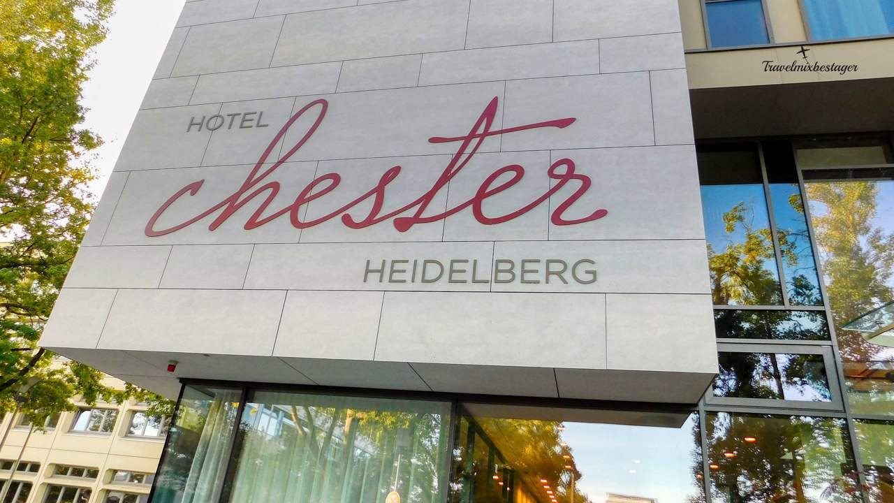 Hotel Chester Eingang