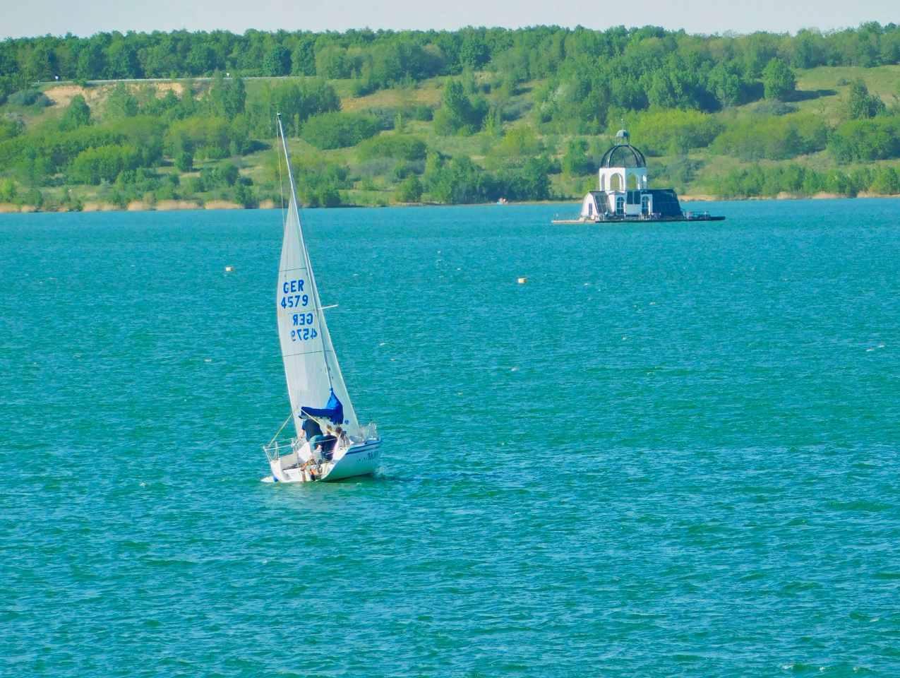 Segelschiff auf dem Weg zur Vineta