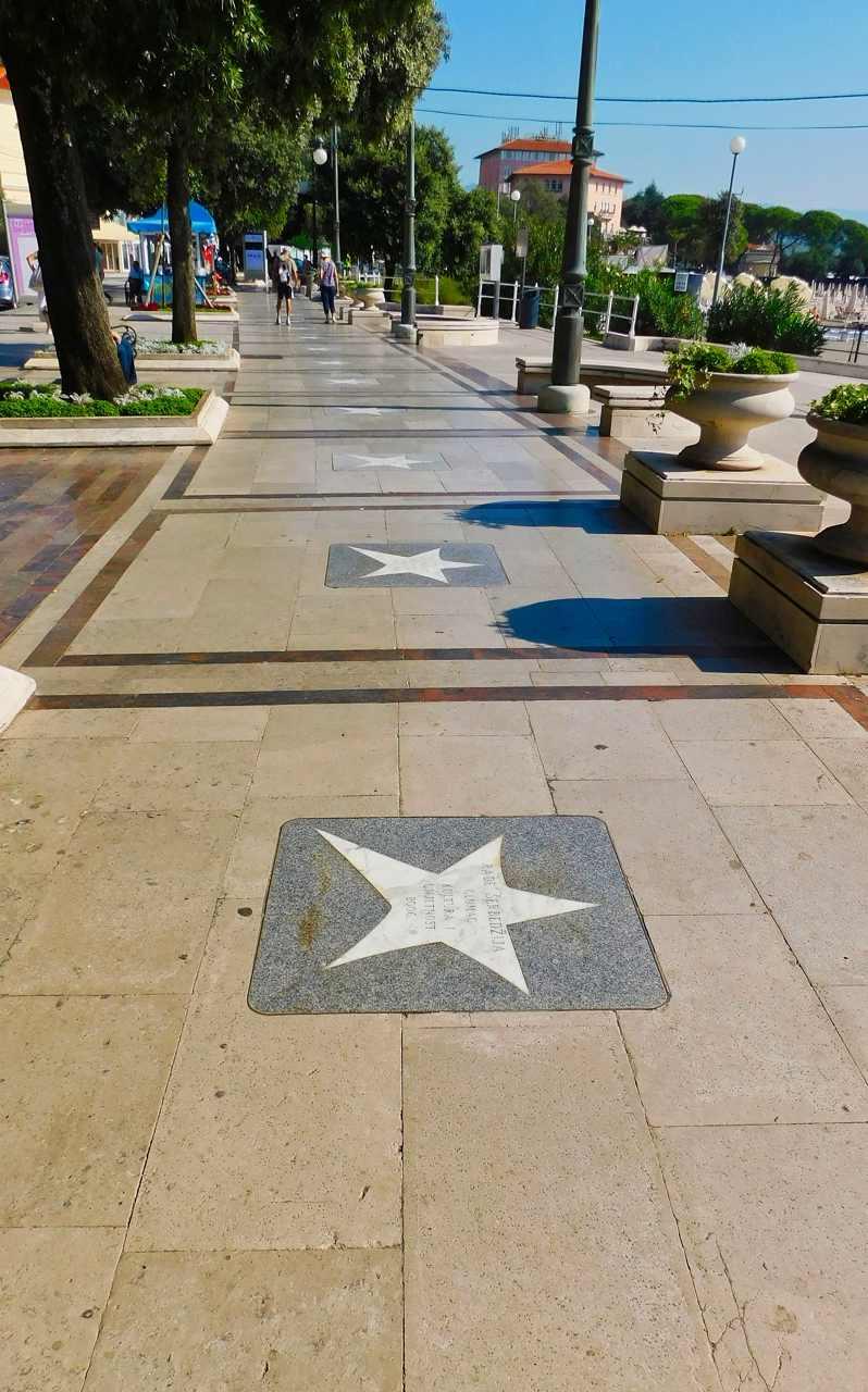 Walk of Fame Opatija