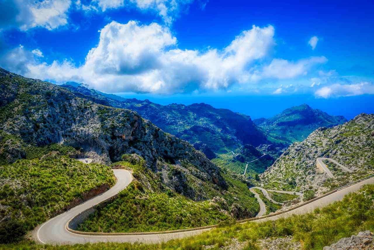 Serpentinen Mallorca